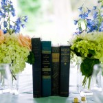 文藝風格書籍主題婚禮