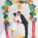 紙花婚禮佈置全面睇