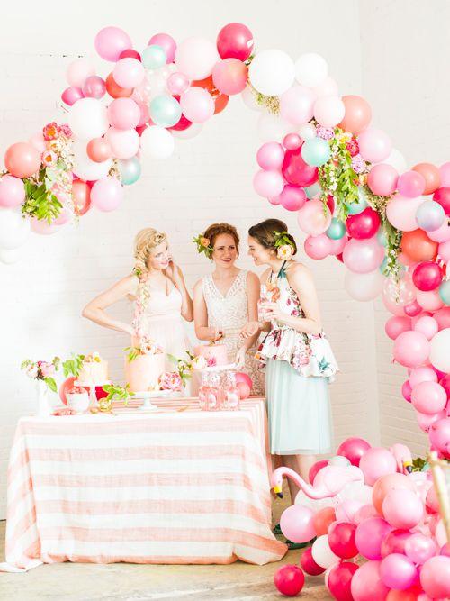 气球装饰婚礼现场