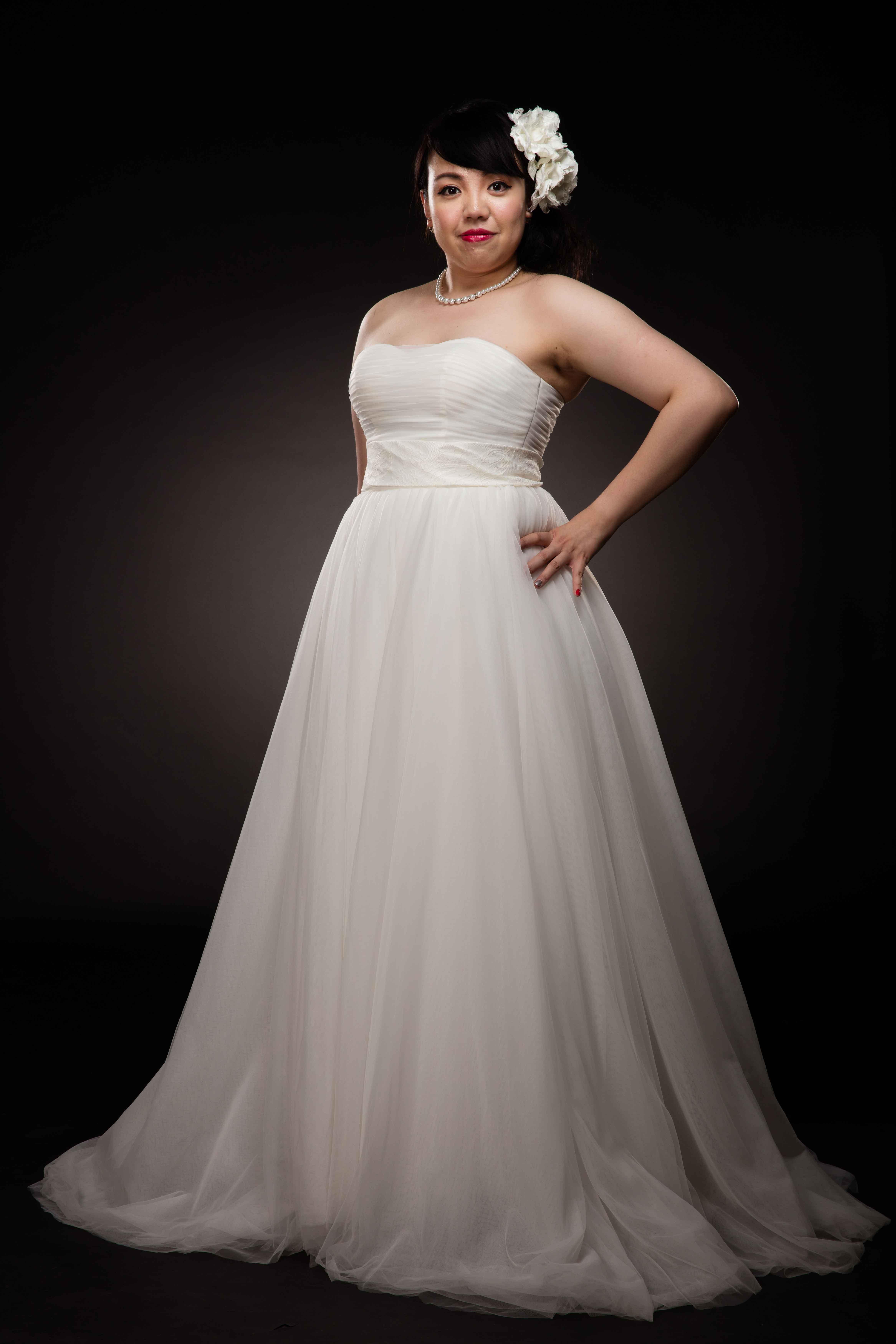 HW Bridal推出多款搶手大碼婚紗