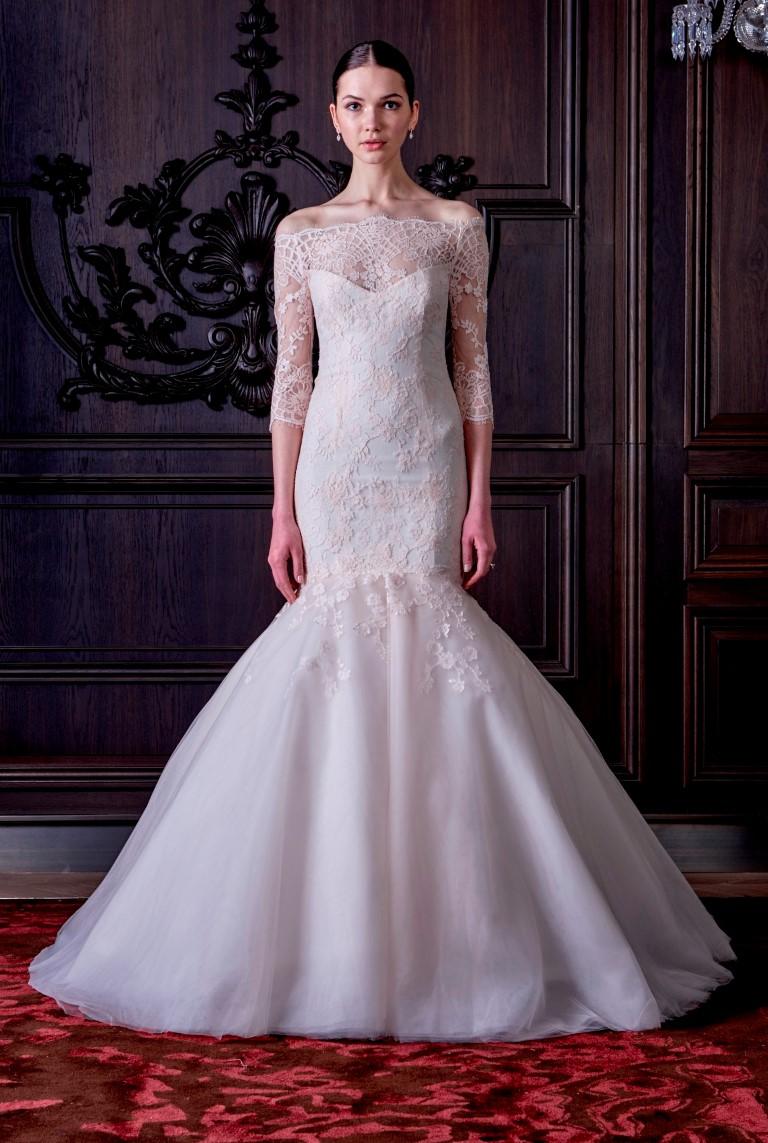 Monique Lhuillier SS16 Bridal-June (Medium)